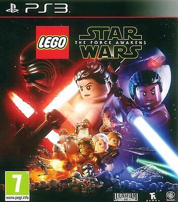 PS3 Lego Star Wars Das Erwachen Der Power + Dlc Jabba's Palast Charakter-Pack
