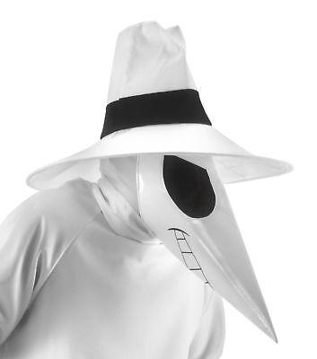 White Spy vs. Costume Kit Mask Hood Hat Plague Doctor Steampunk Creepy Mad Comic - Plague Doctor Hat