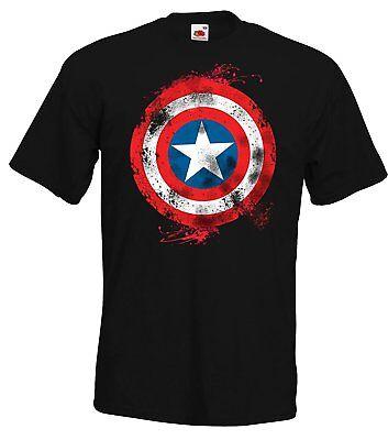 TRVPPY Herren Shirt Modell Vintage Captain America batman superman avengers hulk