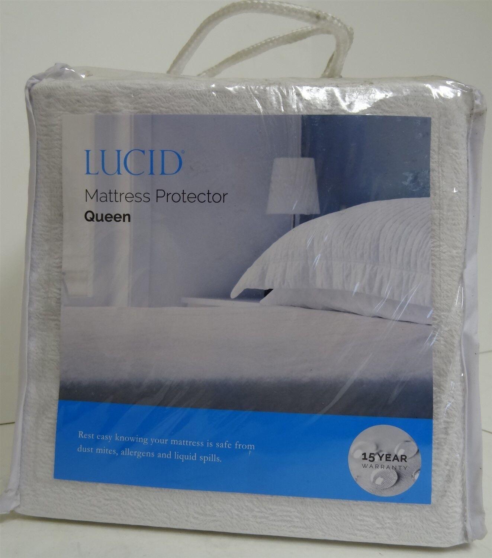 Waterproof Terry Mattress Protector by Lucid Queen