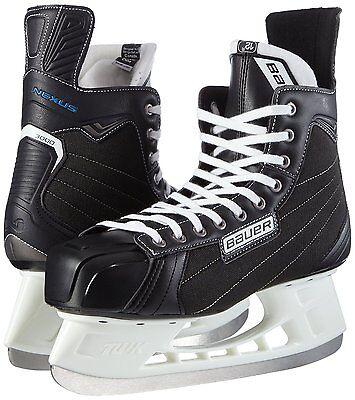 BAUER Nexus 3000 Eishockey Schlittschuhe Eislaufschlittschuhe - Größe 47/Gr.11