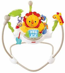 Fisher Price Jungle Jumperoo Bouncer play activity centre Highland Park Gold Coast City Preview