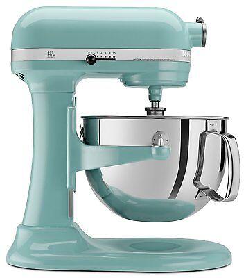 KitchenAid 600 Super Capacity 6-Quart Pro Stand Mixer RKP26M1XAQ Aqua Sky Blue
