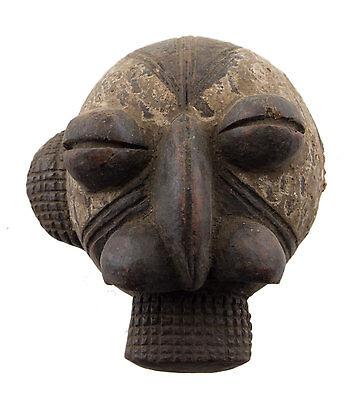 Mask African Passport Miniature Divination Initiation Fetish 6487 B4MB