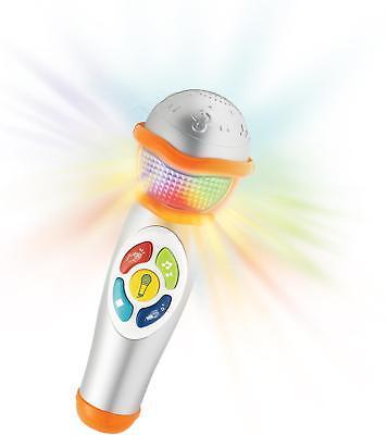 WinFun Kinder Mikrofon Handmikrofon Microphone Spielzeug mit Soundeffekte