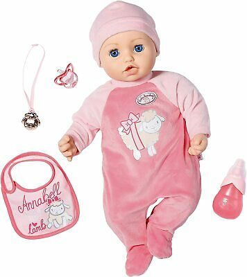 Zapf Creation Baby Annabell Deluxe 43cm Classic 43cm Doll Soft Body