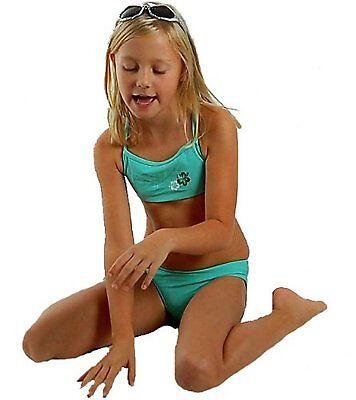 Esprit Mädchen Bustier Bikini Türkis 80/86 K625