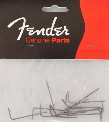 Genuine Fender 0.050 Hex/Allen key wrenches 12pcs 001-8531-049