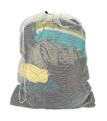 Commercial Mesh Laundry Bag For College Or Laundromat   Assorted Colors