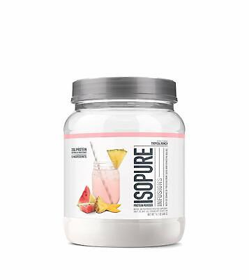 - Fruit Flavored Whey Protein Isolate Powder Refreshingly Light Tropical Punch
