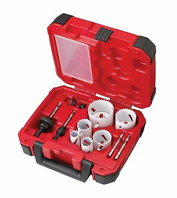 Milwaukee 49-22-4095 10pc Hole Saw Kit
