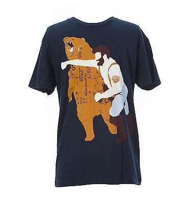 Sharp Shirter Mens Multi Color Haymaker Short Sleeve Cotton T Shirt Size S New