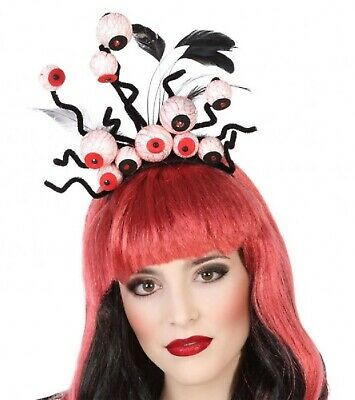 same Augapfel Gruselig Scary Stirnband Kostüm Haarband (Halloween Scary Augäpfel)