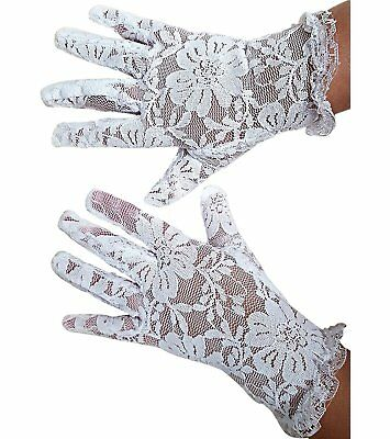 White Lace Communion Gloves Toddlers Super Cute for Boys & Girls. Outfit Gloves - White Gloves Toddler