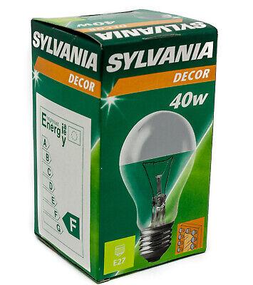 ber 40W E27 Glühlampe silber Kopf verspiegelt dimmbar (Kopf Spiegel)