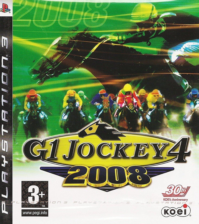 Ps3 G1 Jockey 4 2008 (sony Playstation 3, 2008) Koei Hors...