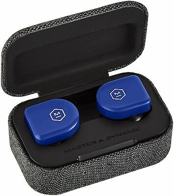Master & Dynamic MW07 Go True Wireless Earphones -Electric Blue...