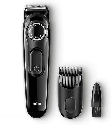 Rasoio elettrico per capelli e barba Braun Regolabarba Uomo BT3020, Ricaricabile