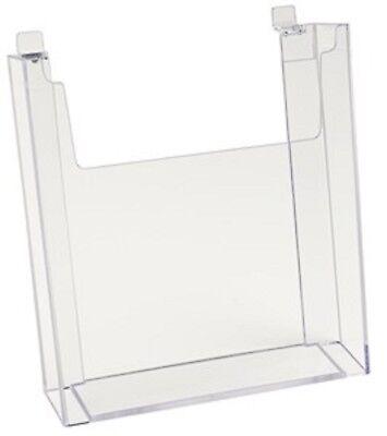 Only Hangers Slatwall Literature Holder 8.5 X 11 10pk