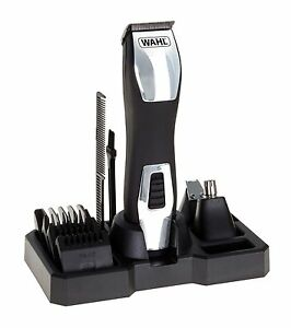 wahl 9845 lithium ion rechargeable cordless beard trimmer. Black Bedroom Furniture Sets. Home Design Ideas