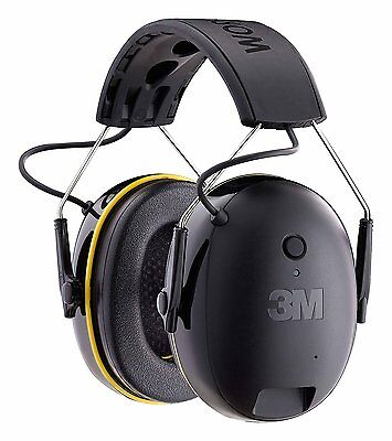 3m Worktunes Connect Hearing Protector Bluetooth Hi-fi Sound Ear Muff Headset