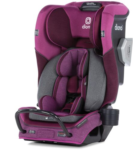 Diono Radian 3QXT 4-in-1 Convertible Car Seat, Purple - NEW w/ TAGS (open box)