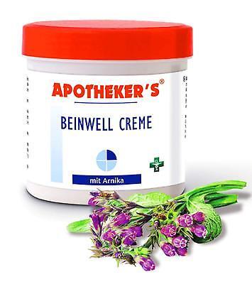 Massage-lotion (BEINWELL Creme 250ml Arnika APOTHEKER'S Massage Lotion Balsam Salbe 32,96€/L 42)