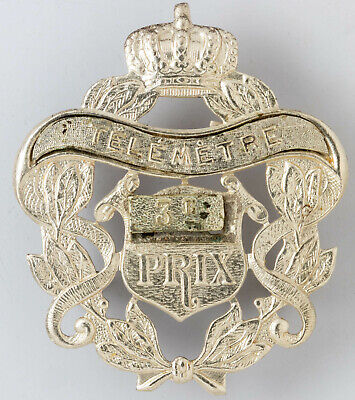 Belgium: Insigne Prix de Tir - Schietprijs Mle 1922 3e Prix Télémètre
