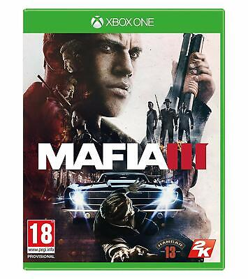 * XBOX ONE NEW SEALED Game * MAFIA III 3