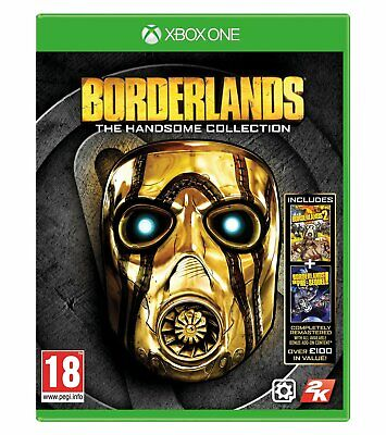 Xbox One Borderlands: The Handsome Collection Brand New Sealed Game