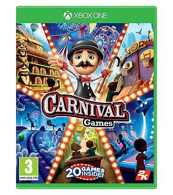 Carnival Games Xbox One Family Game NEW & SEALED