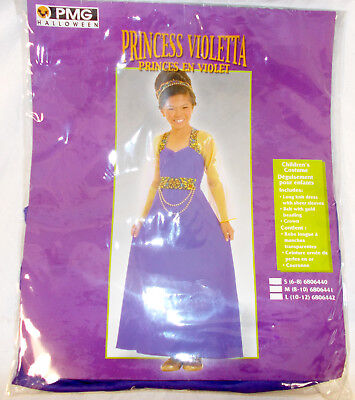 Paper Magic Group Inc (The Paper Magic Group, Inc Purple Princess Violetta Costume Dress S M L)