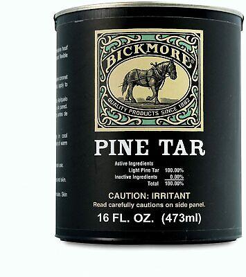 Bickmore Pine Tar 32 Oz Horse Hoof Cattle Dehorn Trees Garden