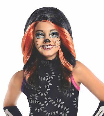 Monster High Skelita Calaveras Wig Black Auburn - Skelita Halloween Wig