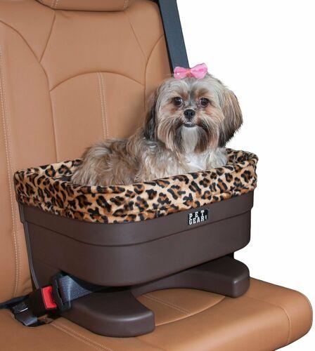 Pet Gear Single dogs Bucket Car Booster Seat Jaguar Fabric