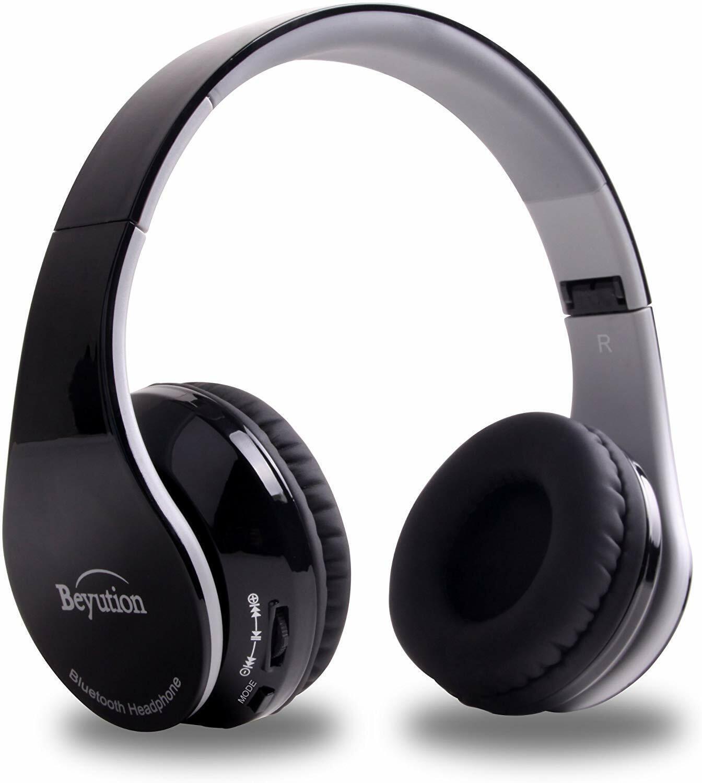bluetooth headphones wireless foldable hi fi stereo