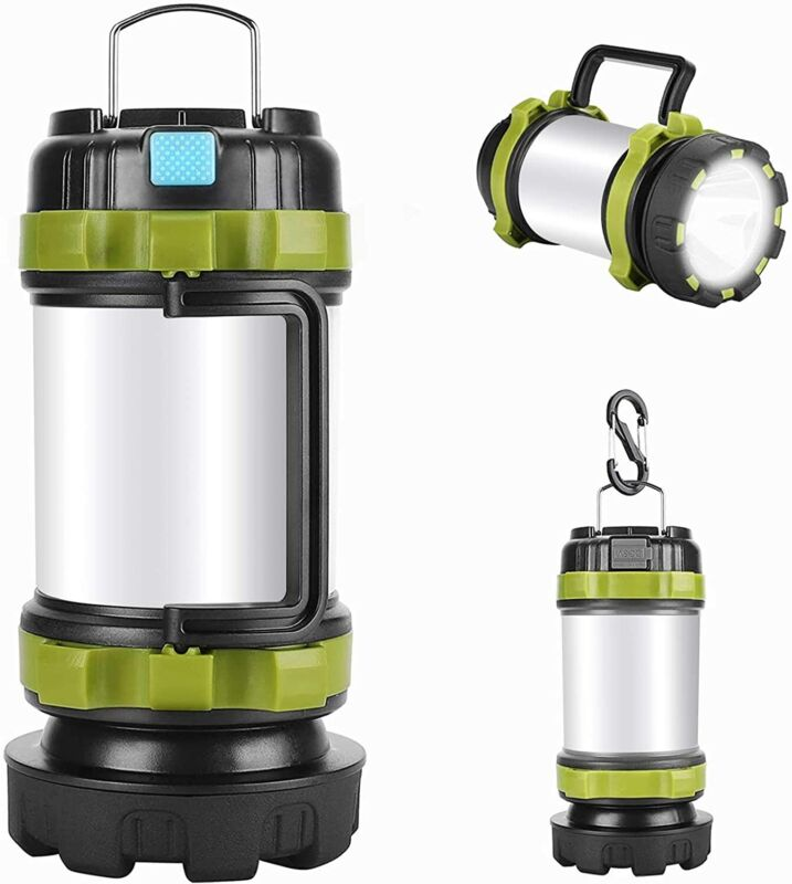 USB LED lantern rechargeable Light Camping Emergency Outdoor Hiking Lamps