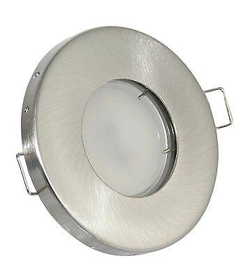 Gu10 Dusche Licht (Badezimmerlicht Einbaustrahler IP65 Feuchtraum Dusche 230V Spot 5W LED GU10)