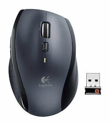 Logitech Marathon M705 Wireless Laser Mouse - Silver/Black