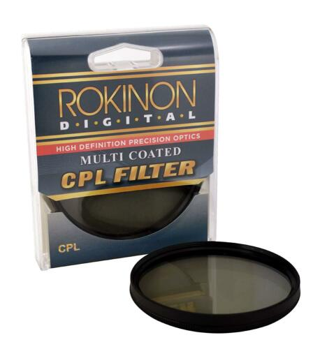 Rokinon Slim 77mm High Definition Circular Polarizer CPL Filter