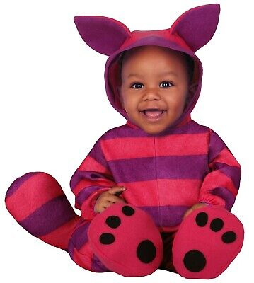 Baby Boys Girls Cheshire Cat Book Day Halloween Fancy Dress Costume Outfit 6-24m