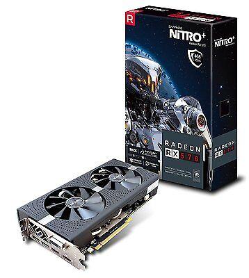 Sapphire Amd Radeon Nitro  Rx 570 4Gb Gddr5 Pci E Graphics Card 11266 14 20G