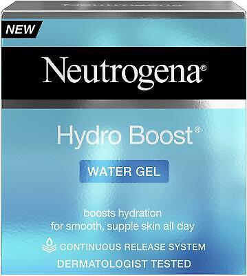 neutrogena hydro boost water gel moisturiser with hyaluronic acid 50ml