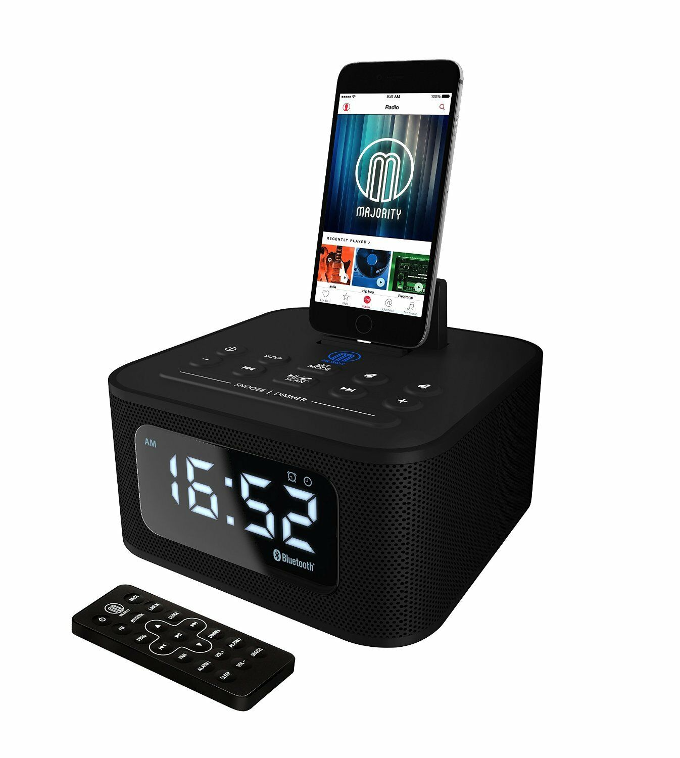 majority docking station lautsprecher dock f r ipod iphone 5 5s 5c 6 6 7 ebay. Black Bedroom Furniture Sets. Home Design Ideas