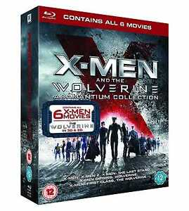 X-Men And The Wolverine Adamantium Collection (With UltraViolet) - Blu-ray