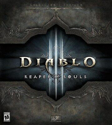 Diablo 3 III: Reaper Of Souls - Collector's Edition [PC-DVD MAC Computer, RPG] for sale  Shipping to Nigeria