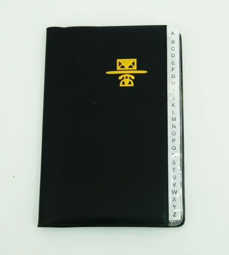 Personal Phone and Address Book Medium Size 4 inch x 6 inch