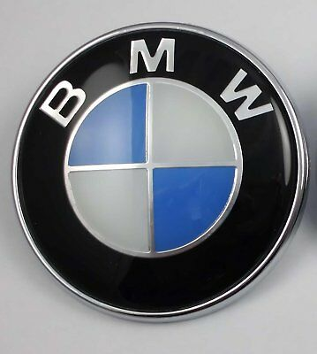 Bmw Roundel Replacement Emblem For Hood Or Trunk Ornament P N 51148132375