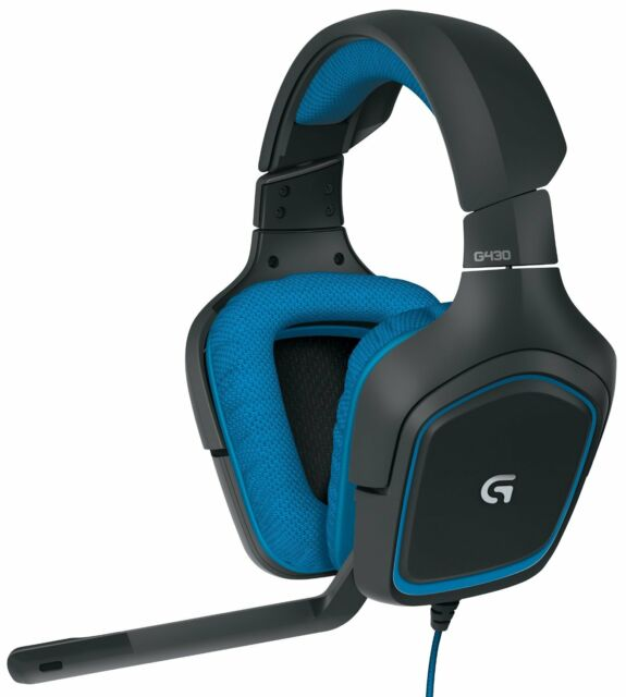 Logitech G430 Surround Sound Gaming Headset for PC and PS4 - NEW - RRP £69.99