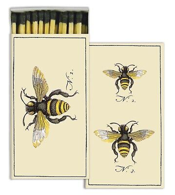 HomArt - Match Box Set of 2 - Insects & Bee - Black